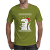 Big Trex Santa Ugly Christmas Mens T-Shirt