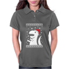 Big Trex Santa Ugly Christmas Womens Polo