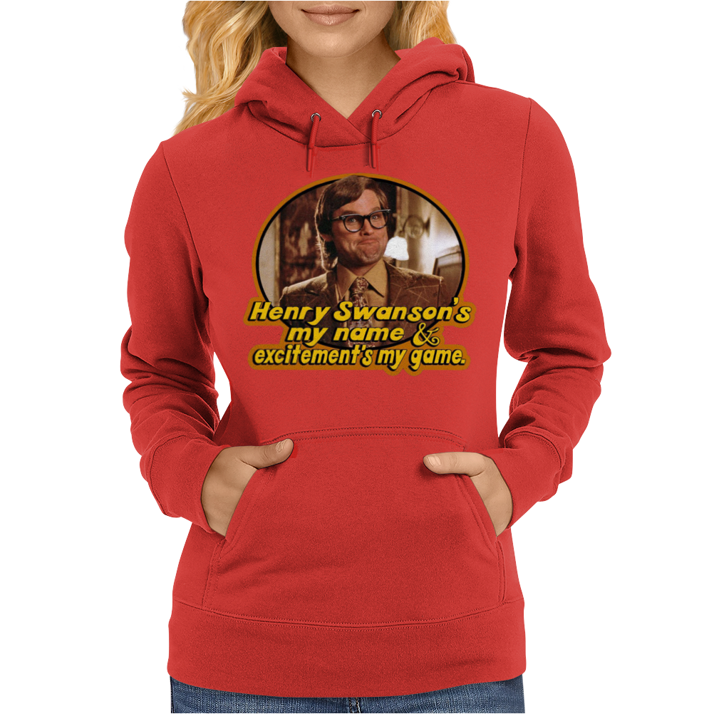 Big Trouble in Little China Henry Swanson's My Name Womens Hoodie
