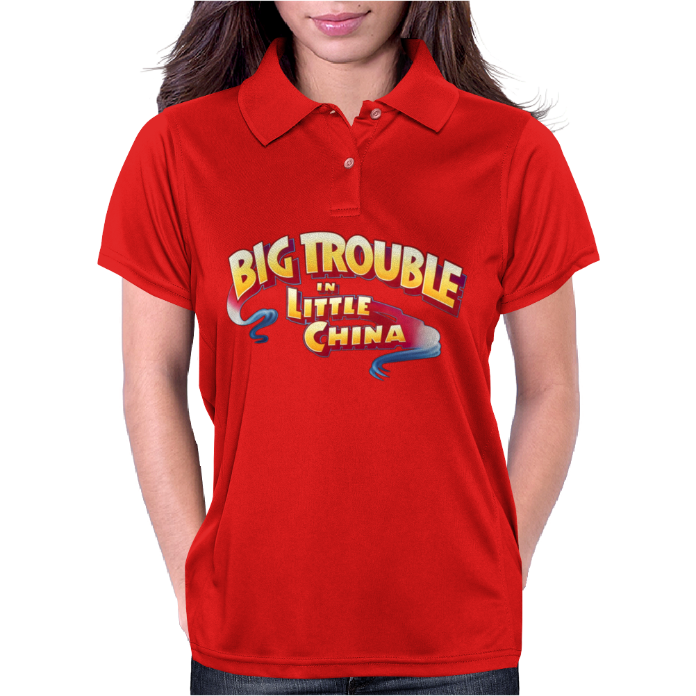 Big Trouble Womens Polo
