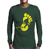 Bigfoot Gone Mens Long Sleeve T-Shirt