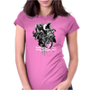 bike addict Womens Fitted T-Shirt