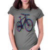 bike bicycle nature adventure Womens Fitted T-Shirt