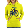 bike bicycle nature adventure Womens Hoodie