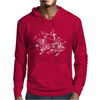 Bike Diagram Mens Hoodie
