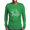 Bike Diagram Mens Long Sleeve T-Shirt