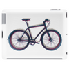 bike mountain bike bicycle retro colors Tablet