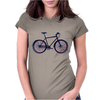 bike mountain bike bicycle retro colors Womens Fitted T-Shirt