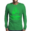 bike now! work later! bicycle sport Mens Long Sleeve T-Shirt