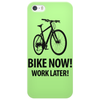 bike now! work later! Phone Case