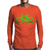 Bike Route Mens Long Sleeve T-Shirt
