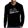 Biker Born To Ride Motorcycle Mens Hoodie