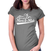 Biker Born To Ride Motorcycle Womens Fitted T-Shirt