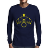 Biker Dude Front Mens Long Sleeve T-Shirt