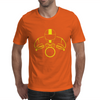 Biker Dude Front Mens T-Shirt