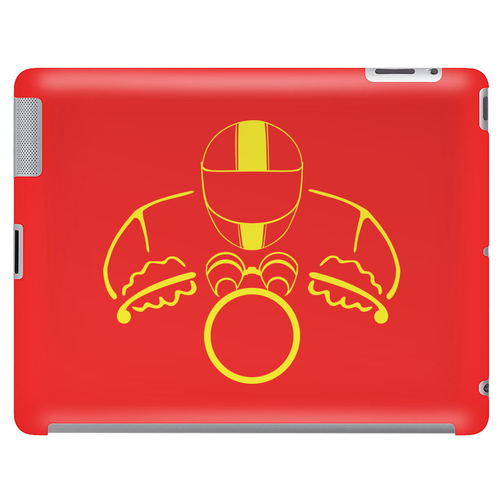 Biker Dude Front Tablet (horizontal)