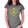 Biker Dude Front Womens Fitted T-Shirt