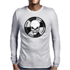Biker Motorcycle Skull Ride Mens Long Sleeve T-Shirt