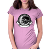 Biker Skull Womens Fitted T-Shirt