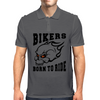 Bikers - Born to Ride Mens Polo