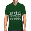 Bikesexual I'll Ride Just About Anything Mens Polo
