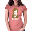 Bill Hicks Rebel Womens Fitted T-Shirt