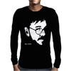 Bill Hicks Tribute Comic Legend Hero Mens Long Sleeve T-Shirt