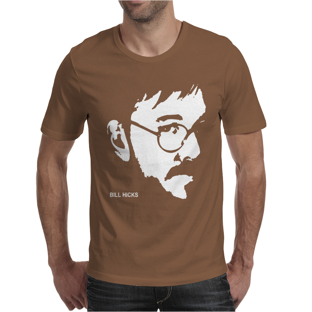 Bill Hicks Tribute Comic Legend Hero Mens T-Shirt