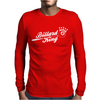 Billard King Mens Long Sleeve T-Shirt
