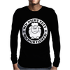 Bin Nicht Fett Mens Long Sleeve T-Shirt