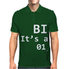 Binary It's As Easy As Mens Polo