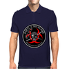 Biohazard Daryl Michonne Walker Survival Training  Ring Patch outlined 3 Mens Polo