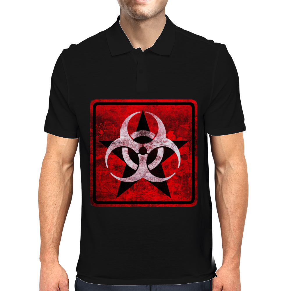 Biohazard Mens Polo