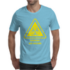 Biohazard Symbol Laboratory Hazard Warning Sign Mens T-Shirt