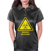 Biohazard Symbol Laboratory Hazard Warning Sign Womens Polo
