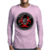 Biohazard Walking Dead  Ring Patch outlined 3 Mens Long Sleeve T-Shirt