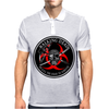 Biohazard Walking Dead  Ring Patch outlined 3 Mens Polo