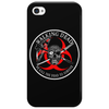Biohazard Walking Dead  Ring Patch outlined 3 Phone Case