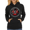 Biohazard Walking Dead  Ring Patch outlined 3 Womens Hoodie