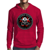 Biohazard Zombie Squad 3 Ring Patch outlined 2 9 Mens Hoodie