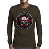 Biohazard Zombie Squad 3 Ring Patch outlined 2 9 Mens Long Sleeve T-Shirt