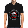 Biohazard Zombie Squad 3 Ring Patch outlined 2 9 Mens Polo