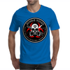 Biohazard Zombie Squad 3 Ring Patch outlined 2 9 Mens T-Shirt