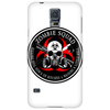 Biohazard Zombie Squad 3 Ring Patch outlined 2 9 Phone Case