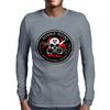 Biohazard Zombie Squad 3 Ring Patch outlined 2 Mens Long Sleeve T-Shirt