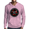 Biohazard Zombie Squad 3 Ring Patch outlined Mens Hoodie