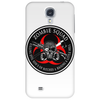 Biohazard Zombie Squad 3 Ring Patch outlined Phone Case