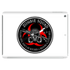 Biohazard Zombie Squad 3 Ring Patch outlined Tablet (horizontal)