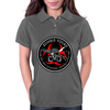 Biohazard Zombie Squad 3 Ring Patch outlined Womens Polo