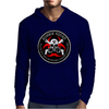 Biohazard Zombie Squad 4 Ring Patch outlined 2 9 Mens Hoodie